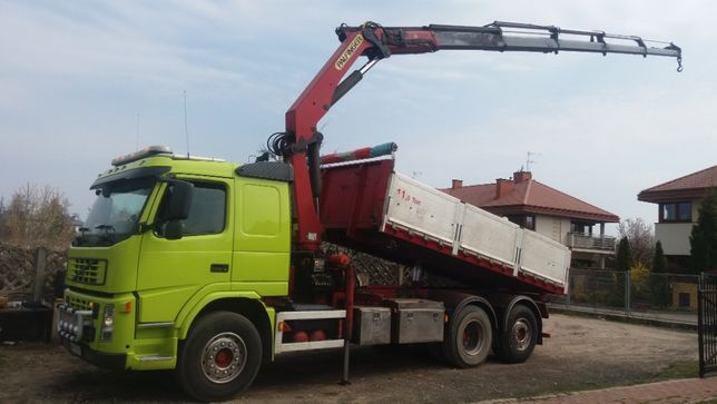 HDS-17 metrów, usługi transportowe