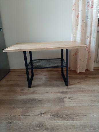 Ława/stół w stylu industrialnym