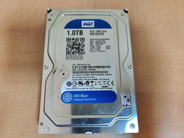 HDD WD Blue 1Tb 3.5