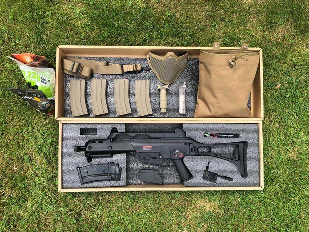 Karabinek G36 + pistolet ST23 + akcesoria ASG