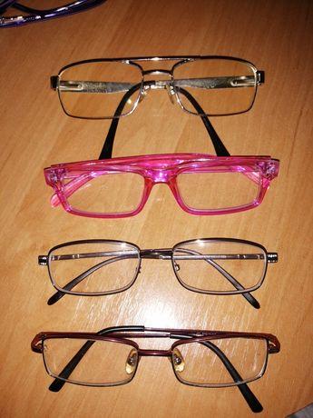 Оправы женские мужские очки стекло + 3 + 1