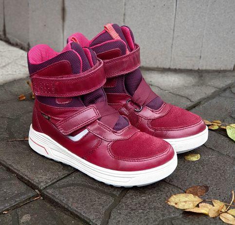 Сапоги, ботинки, ботиночки Ecco зимние 32 р., экко зима, екко
