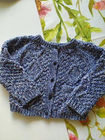 Sweterek next niemowlęcy 68 3-6 miesięcy