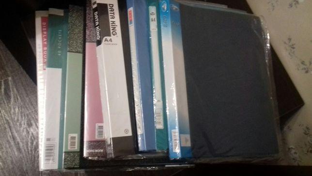 Канцтовары:папки-скоросшиватели,с прижимом,биндеры,степлеры и проч.