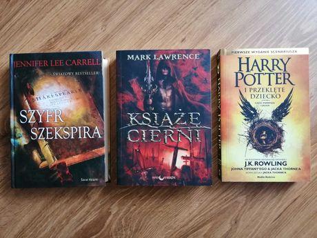 Książki Książę cierni Harry Potter i przeklęte dziecko Szyfr Szekspira
