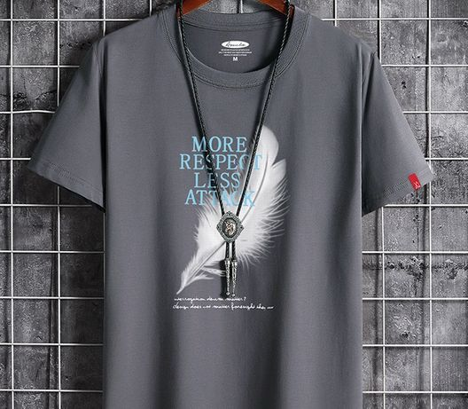 мужская футболка - размер 46.48см - новая