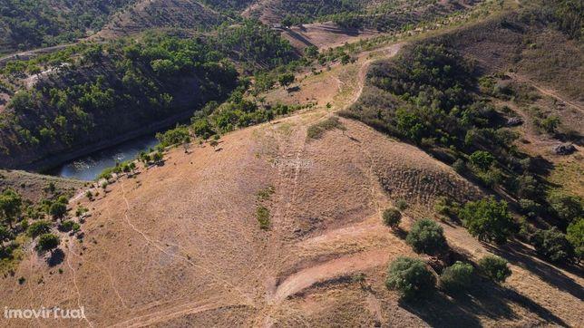Monte Alentejano com ruína em Sabóia