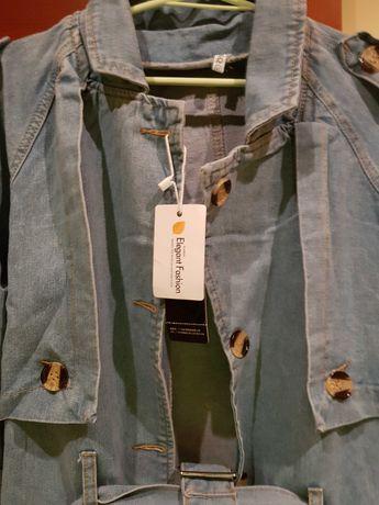 Płaszczyk z dżinsu