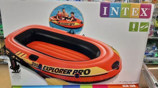 Надувна лодка, витримує 120 кг. Хороша якість