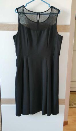 Sukienka Orsay roz 40 czarna z dekoltem serce wesele sylwester święta