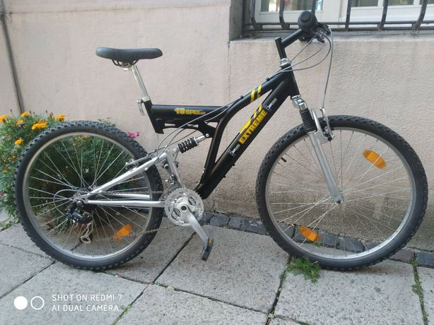 Велосипед ровер горный  двопідвіс велик