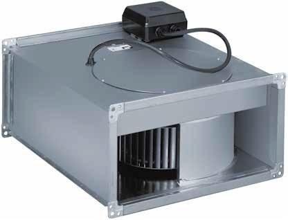 Промышленные вентиляторы (канальные вытяжки)