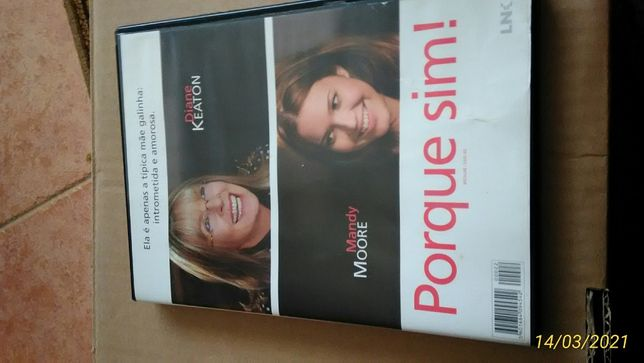 DVD Porque Sim ! Filme Diane Keaton Mandy Moore ENTREGA JÁ M. Lehmann