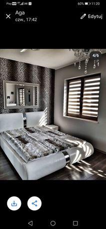 Łóżko 160x200 eko skóra