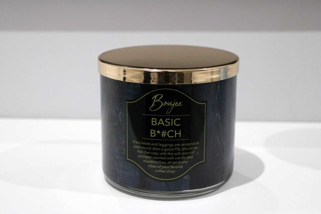 Basic B*# ch Kringle Candle