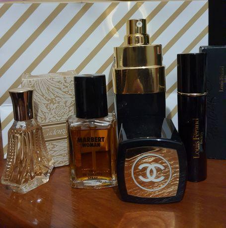 Вінтаж оригінал Chanel 5, louis Feraud парфуми