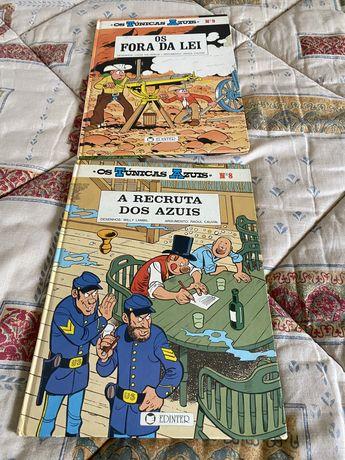 Livros Os Tunicas Azuis