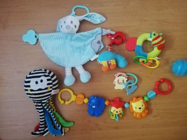 Zabawki dla dziecka, ośmiornica z odgłosami prenatalnymi, cena za cało