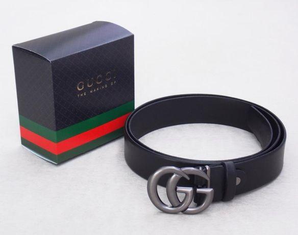 Женский кожаный ремень Gucci + коробка