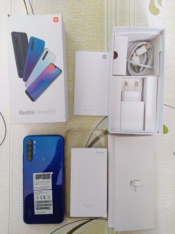 Xiaomi redmi note 8t 4/128 gb синий серый