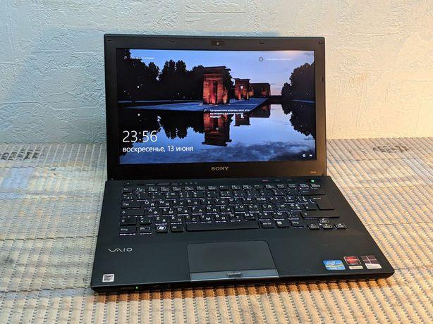 Ультрабук Sony Vaio intel Core i7 3.6GHz 256GB SSD металлический
