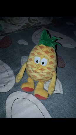 мягкие игрушки лимон и ананас