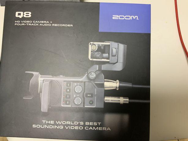 Zoom Q8 kamera z genialnym nagrywaniem dzwięku