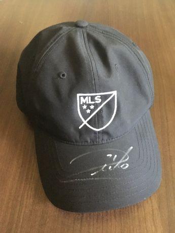 Adidas MLF czapeczka z oryginalnym autografem Andrea Pierlo NOWA