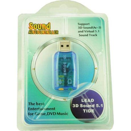 Внешняя звуковая карта Dynamode USB 3D Sound 5.1