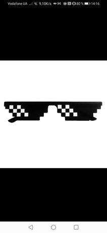 Очки солнцезащитные очки пиксельные очки от солнца