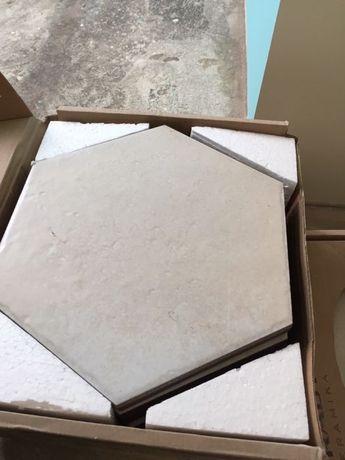 Напольная плитка Cotto Crema Heksagon