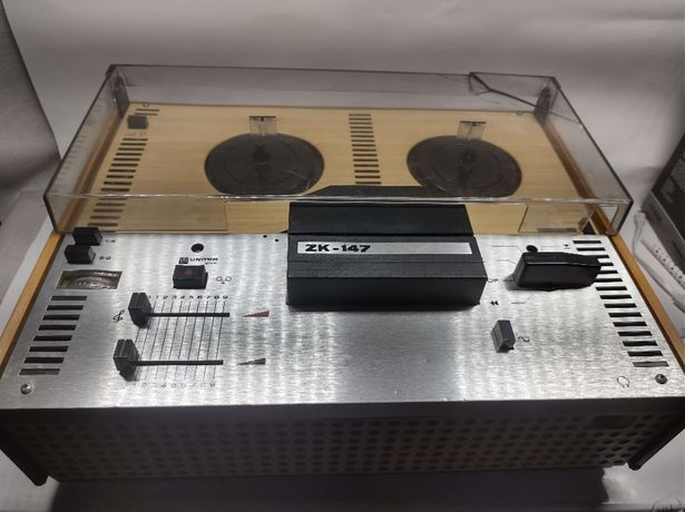 Magnetofon szpulowy ZK 147 - zabytkowy, sprawny ! Lombard Dębica