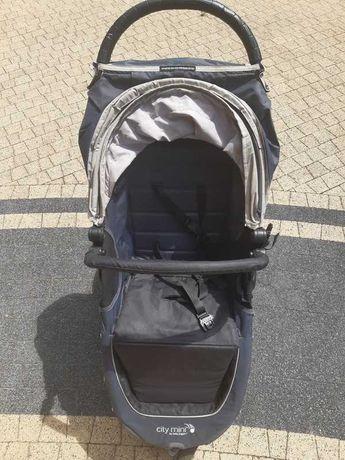 City mini baby jogger spacerówka + śpiwór