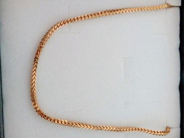Złoty łańcuszek,Pozłacany łańcuszek,585,14k,Italy Gold,316L,NOWY,HIT