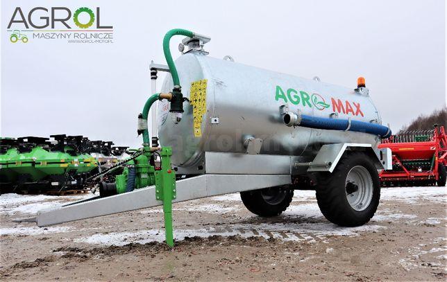 Wóz asenizacyjny beczkowóz 5000 litrów Agro-Max beczka do gnojowicy