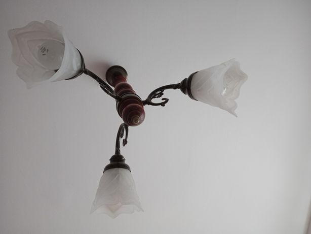 Lampa sufitowa+lampka nocna