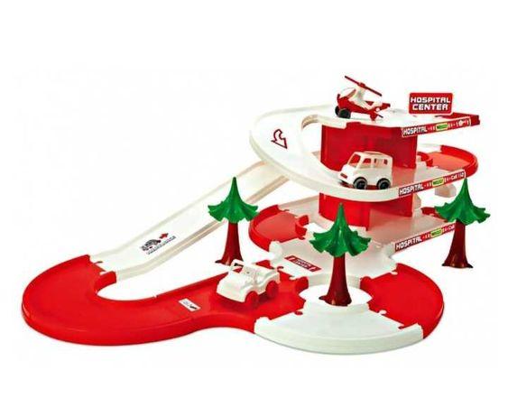 Игровой набор для малыша Wader ''Play Track City'' Скорая Помощь