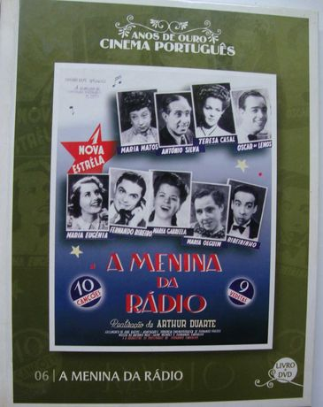 A Menina da Rádio: DVD + Livro ilustrado