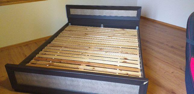 Komplet mebli brw wenge largo/ sibu, łóżko,szafa,komoda, stolik nocny