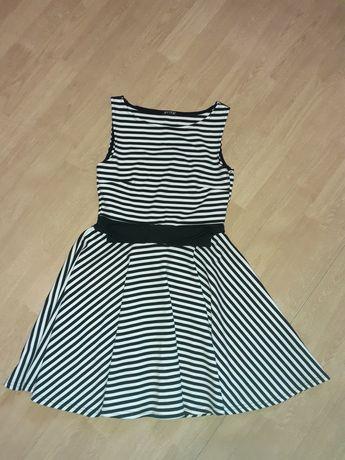 Sukienka EVITA z kokardą rozmiar 38