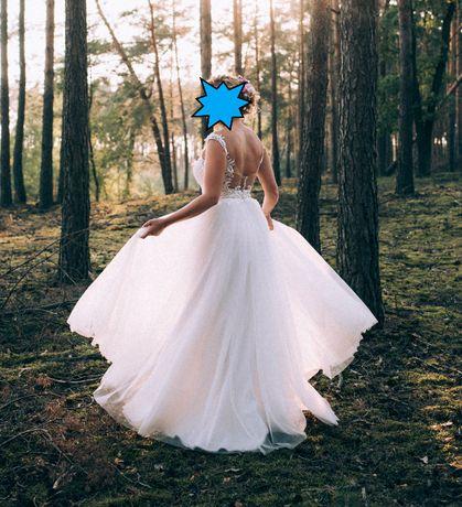 Suknia ślubna Monica Loretti model Nilay, rozm. 38