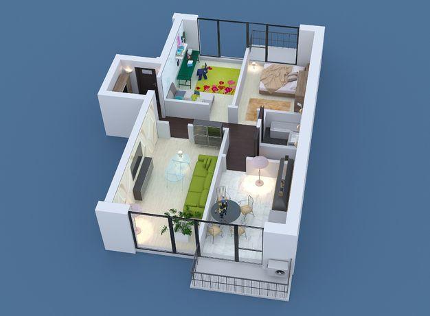 Продам 87м2 трёхкомнатную квартиру ж\м Фрунзенский