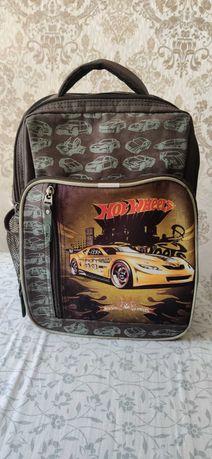 Школьный рюкзак для мальчика Hot Wheels