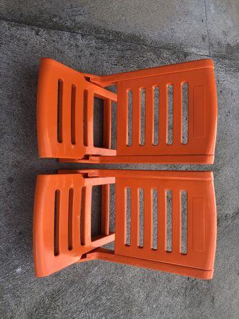 Cadeiras de praia novas desdobraveis