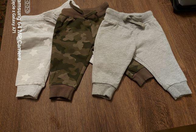 3 pary spodni dresowych , rozm. 62