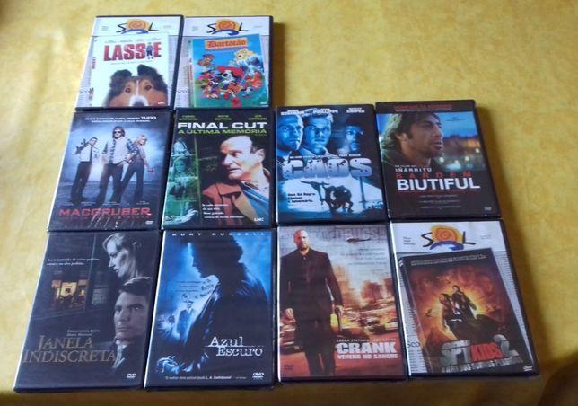 DVD's selados