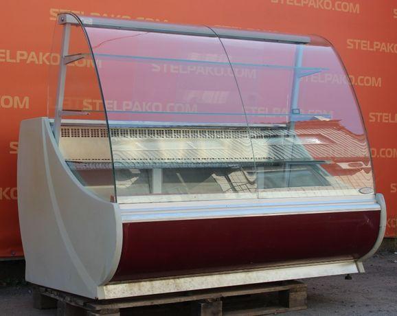 Холодильная витрина кондитерская «Golfstream Нарочь» 1.6 м. Б/у 79002