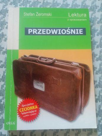 """Lektura """"Przedwiośnie"""" Stefan Żeromski"""