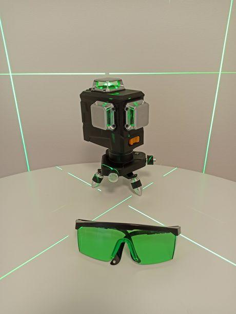 Лазерный уровень Deko Green , Зеленый луч 12 линий, Xeast, Hilda
