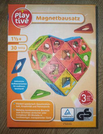 Набір магнітних конструкцій PLAYTIVE® для нескінченних розваг